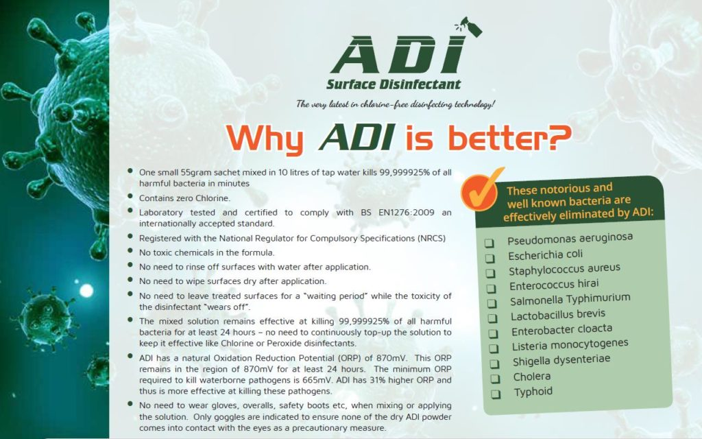 ADI - summary info sheet