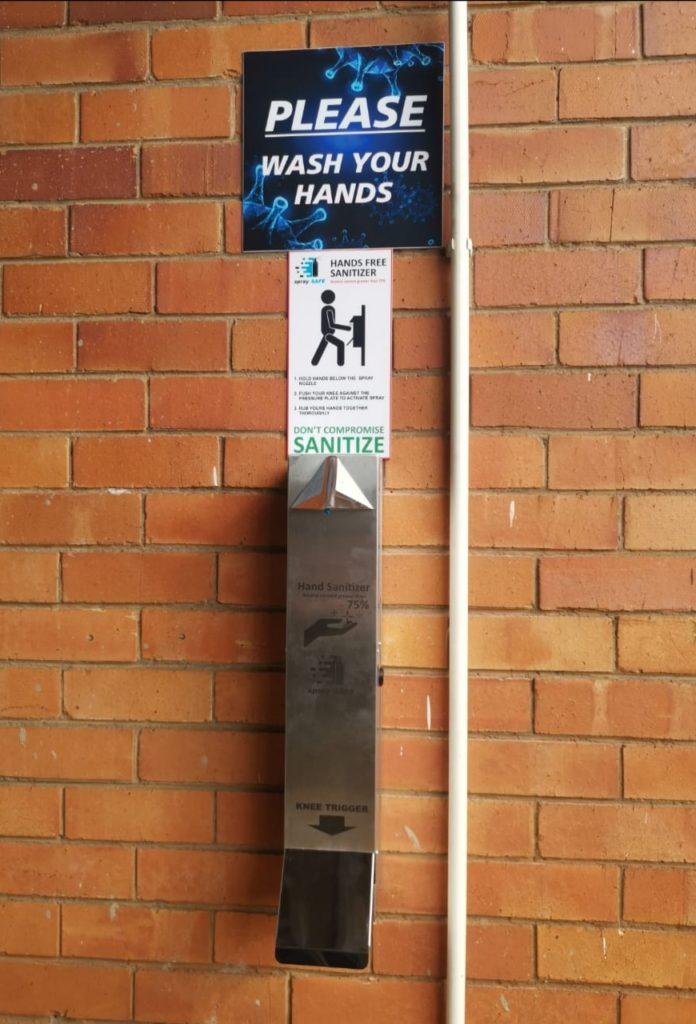 3. Spray Safe Dispenser